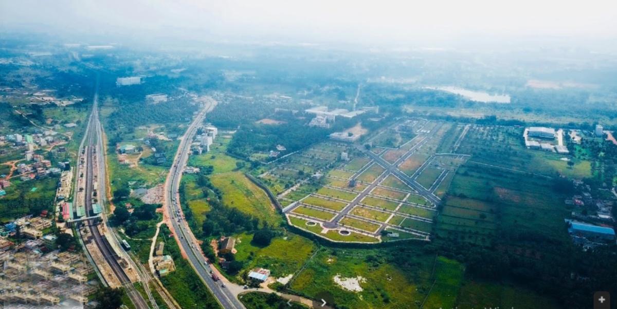 SLP Pine Valley in Bidadi, Bangalore - Price, Location Map ...