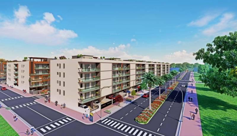 aradhya-homes-apartment Elevation