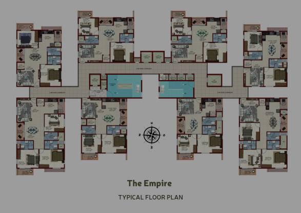 candeur-40 Tower C Cluster Plan