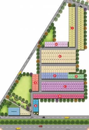 honor-homes-plot Layout Plan