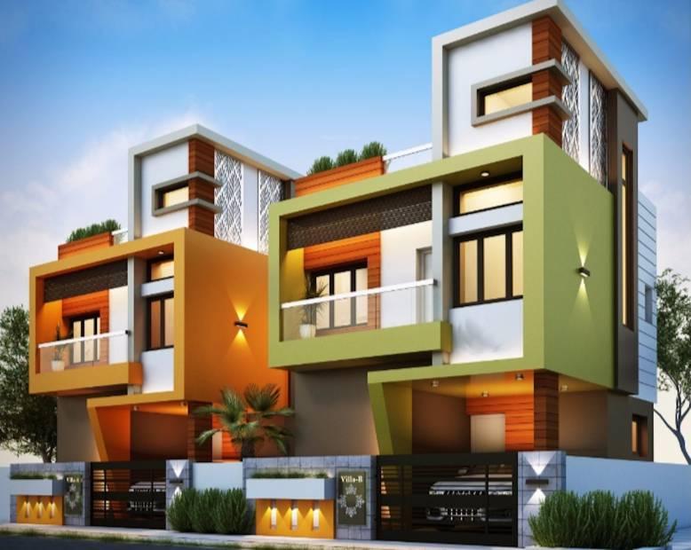 sahana-villas Elevation