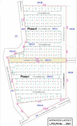 rp-north-village Layout Plan