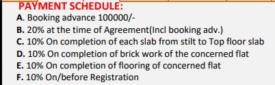 vaibhava Construction Linked Payment (CLP)