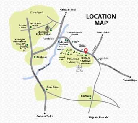 aranya Location Plan