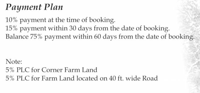 country-farm Time Linked Payment (TLP)