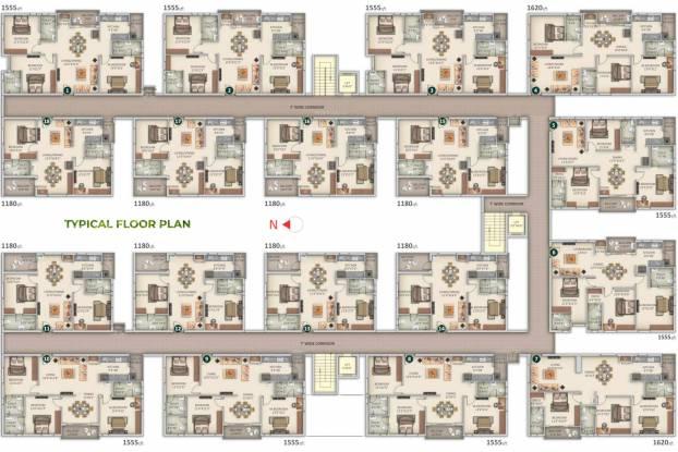 bhuvi-residency Bhuvi Residency Cluster Plan