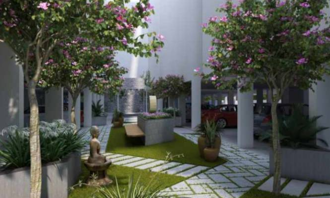 bhuvi-residency Landscape Garden and Tree Planting