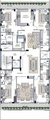 hiraeth-residency Hiraeth Residency Cluster Plan for 3rd Floor