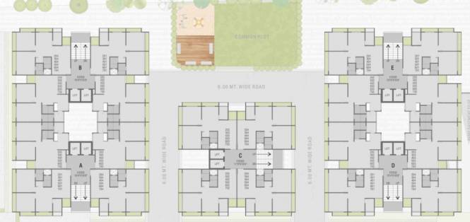 prime-elegance Prime Elegance Cluster Plan from 2nd to 7th Floor