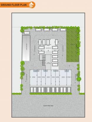 keshar-kadam Block A Cluster Plan For Ground Floor