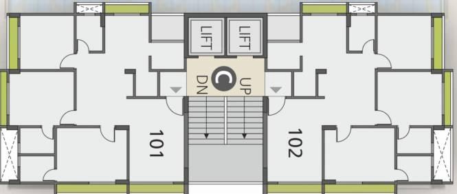 centrum C Cluster Plan
