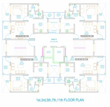 casalino-towers-phase-ii Wing D Cluster Plan
