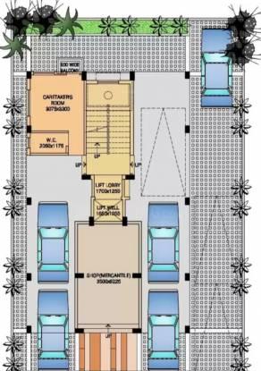 rajmandir-housing-society Rajmandir Housing Society Cluster Plan for ground Floor