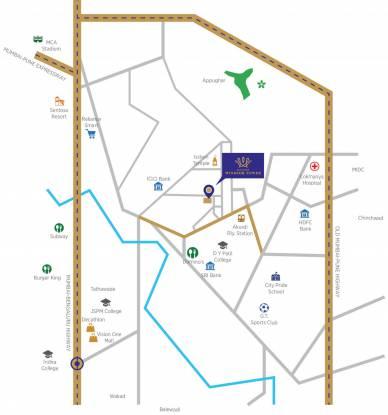 windsor-tower Location Plan