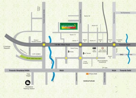dream-height-3 Location Plan