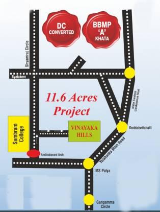 vinayaka-hills Location Plan
