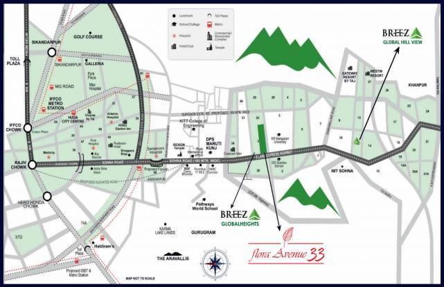 flora-avenue-33-i Location Plan