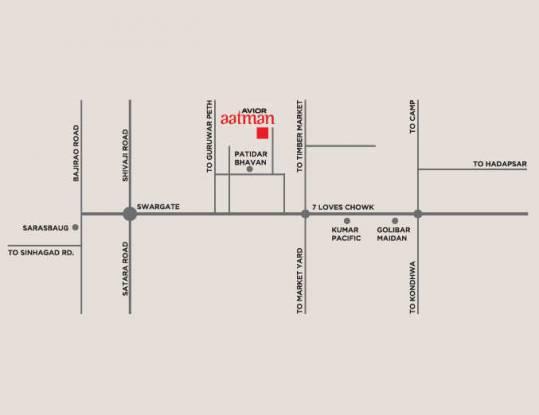 aatman-phase-iii Location Plan