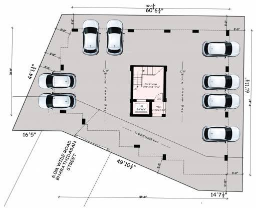 charan-enclave Charan Enclave Cluster Plan For Ground Floor