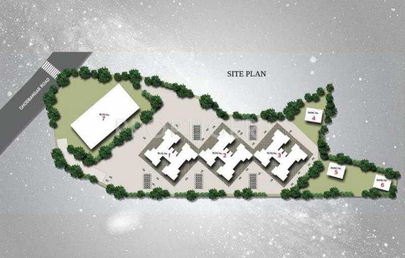 Images for Site Plan of Jangid Galaxy