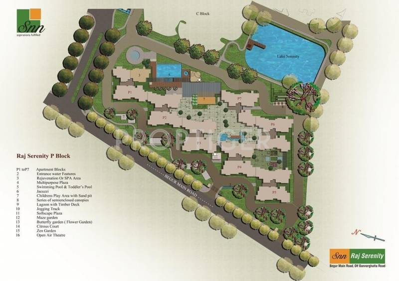 Images for Layout Plan of SNN Raj Serenity Phase 2