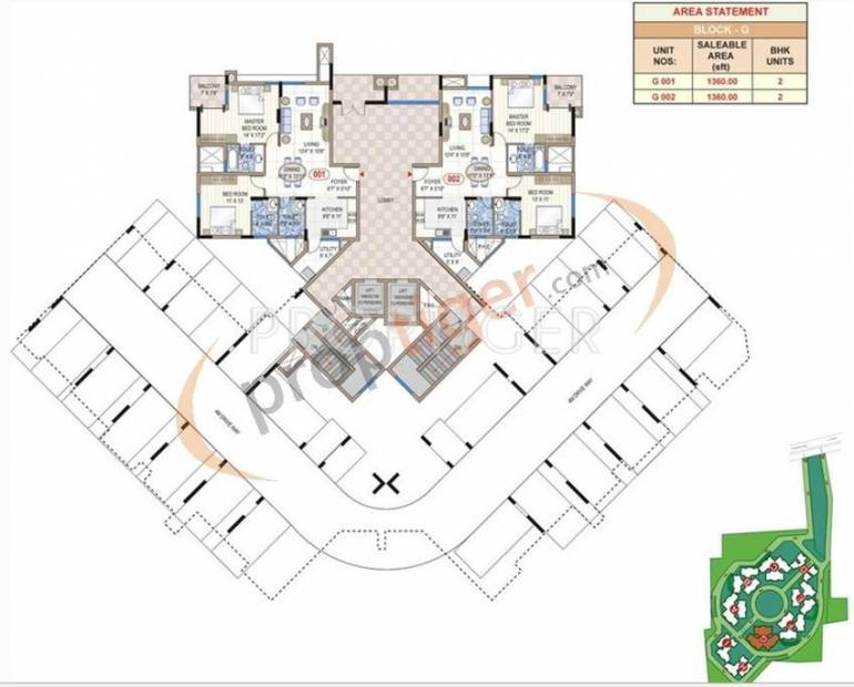 Images for Cluster Plan of Mantri Synergy