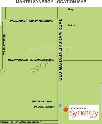 Images for Location Plan of Mantri Synergy