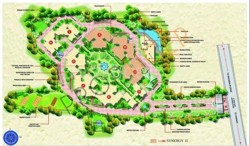 Images for Master Plan of Mantri Synergy