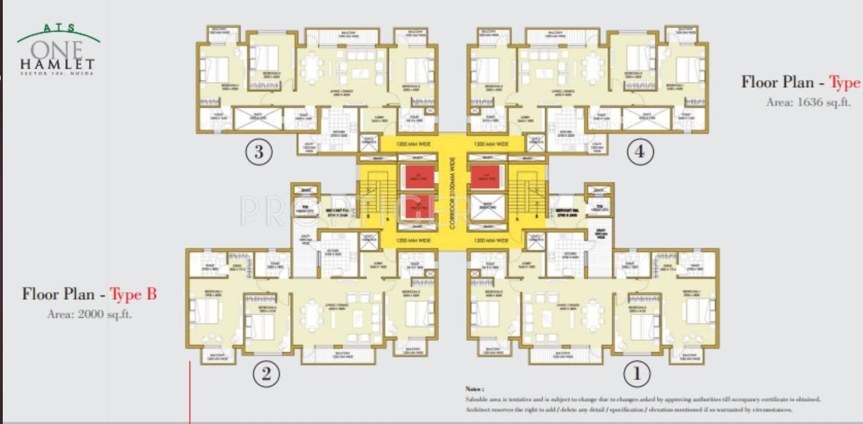 Ats One Hamlet In Sector 104 Noida Price Location Map Floor Plan Reviews Proptiger Com