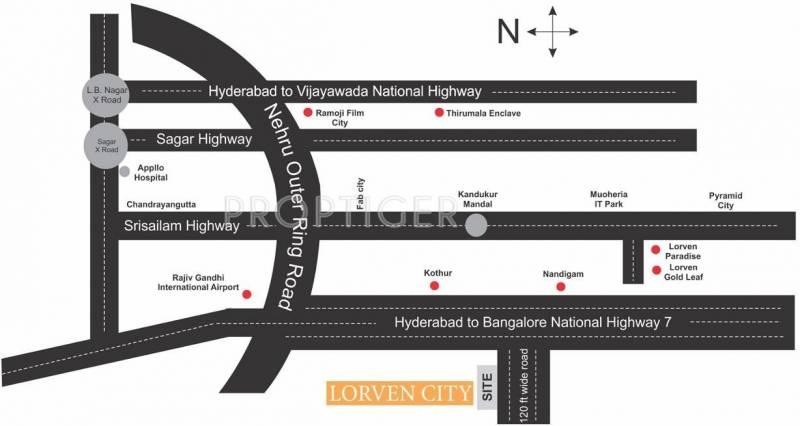 Images for Location Plan of Vasundhara Lorven City