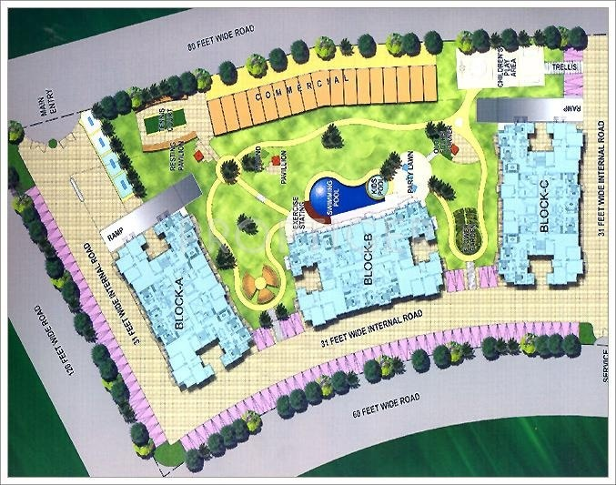 Images for Layout Plan of Mapsko Group Krishna Apra Sapphire
