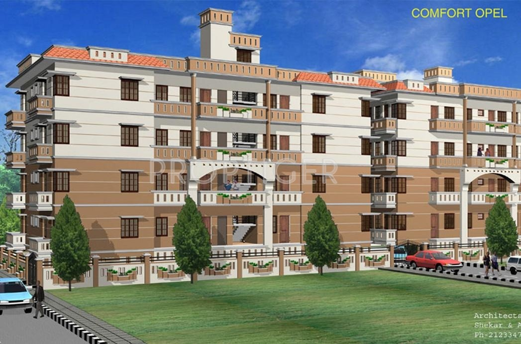 Main elevation image of comfort opel unit available at