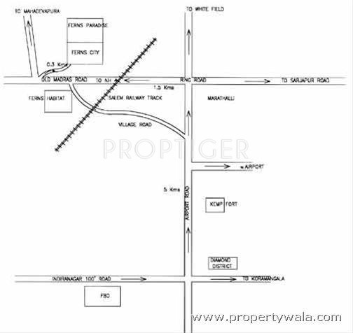 Images for Location Plan of Ferns Habitat