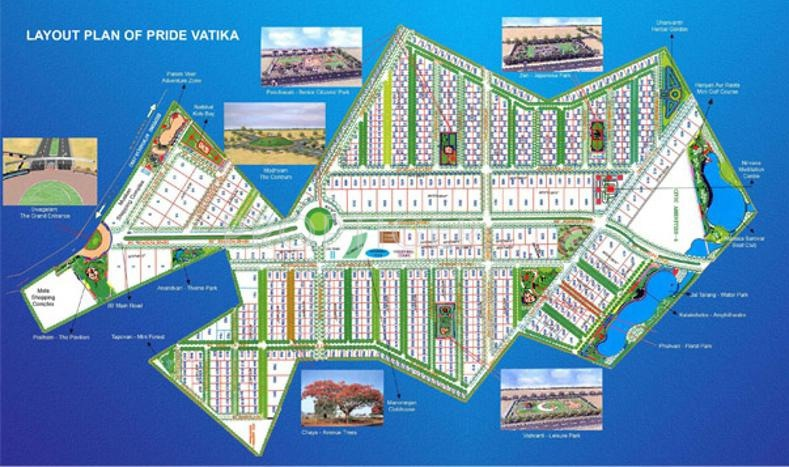 Layout Plan Image of Pride Housing Vatika for sale - Proptiger.com