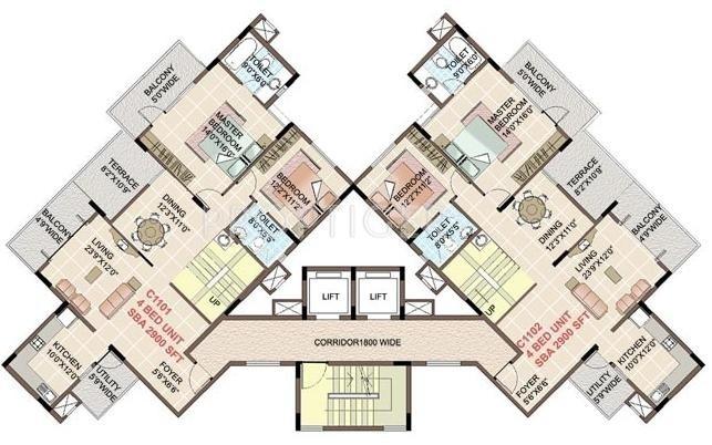 Images for Cluster Plan of Shriram Symphonye