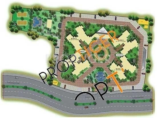 Images for Master Plan of Shriram Symphonye