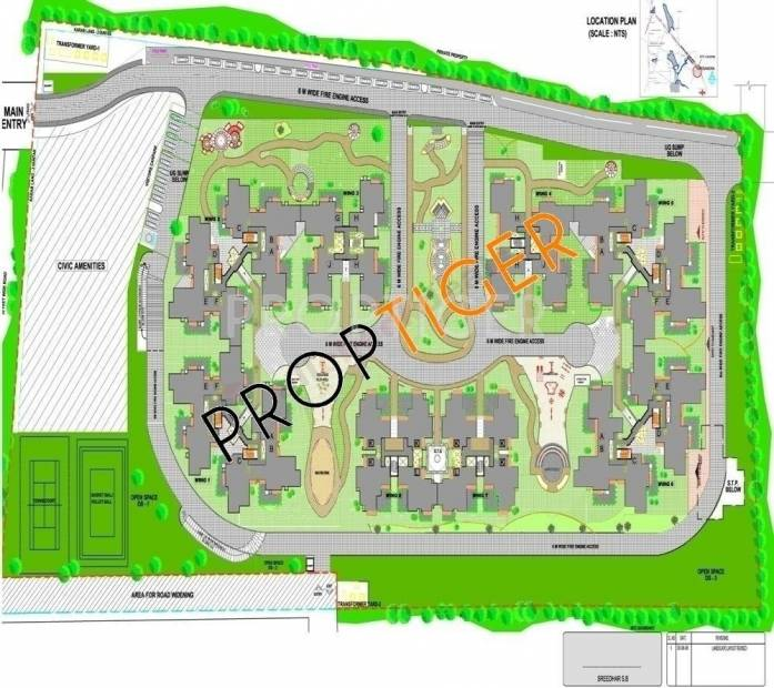 Images for Location Plan of Sobha Chrysanthemum