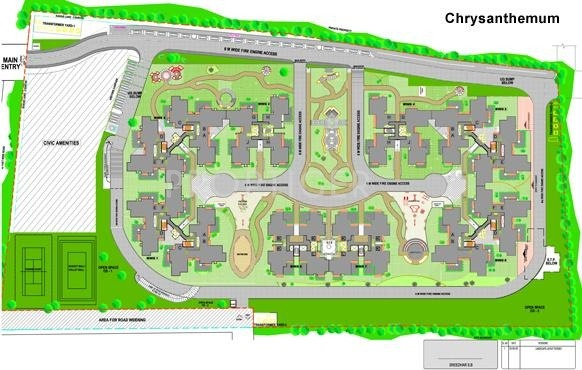 Images for Master Plan of Sobha Chrysanthemum