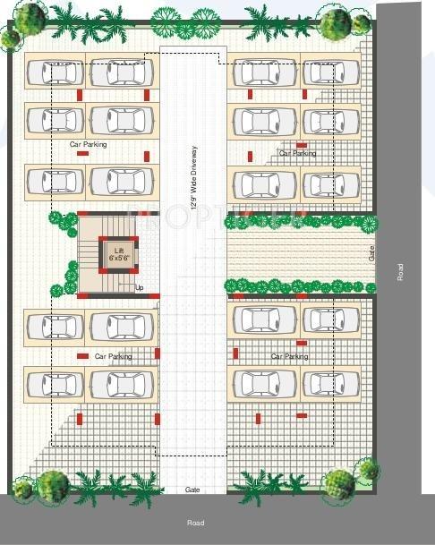 Images for Cluster Plan of Sri Aditya Mist