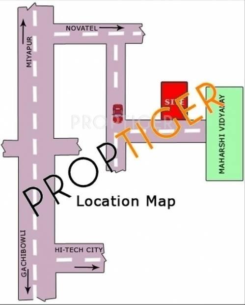 Sri Sai Construction Kondapur Location Plan