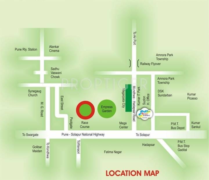 Gawade Unique Enclave Location Plan