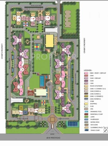 Images for Layout Plan of Ansal Sushant Serene Residency