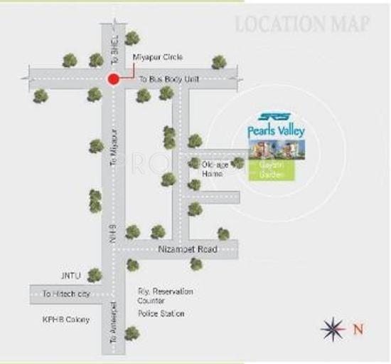 pearls-valley Location Plan