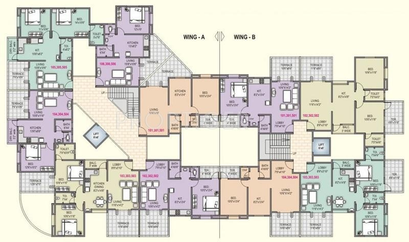 Images for Cluster Plan of Shah And Associates Le Rayon