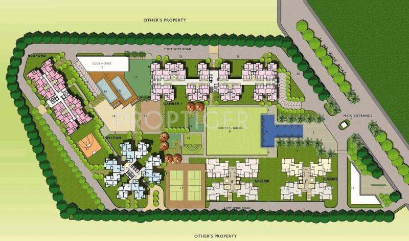 Images for Site Plan of Assotech Windsor Court Phase I and II