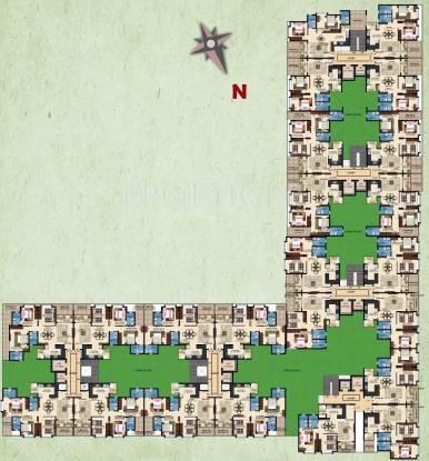 raaga Images for Cluster Plan of Kolte Patil Raaga