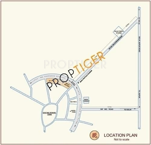 Images for Location Plan of Suncity Suncity Rewari