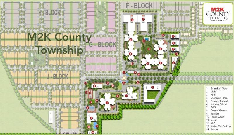 Images for Master Plan of M2K County Heights