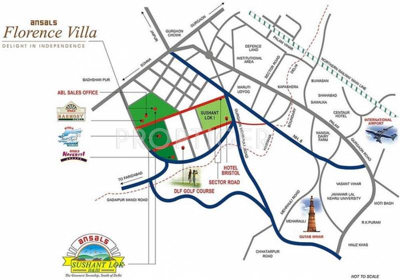 Images for Location Plan of Ansal Florence Villa