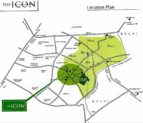 Images for Location Plan of DLF The Icon